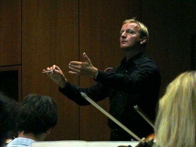 Gerhart in actie tijdens zijn examen in Hagen!