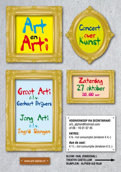 Concert van Art & Arti