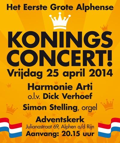 Koningsconcert-2014-poster zonder prijs